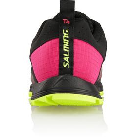 Salming Trail T4 Shoes Damer, black/fluo pink